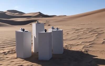 Uprostřed africké pouště bude donekonečna hrát legendární skladba Toto - Africa