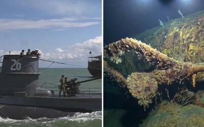 Uprostřed Atlantského oceánu objevili potopenou legendární nacistickou ponorku. Znáš ji z filmu Dobyvatelé ztracené archy