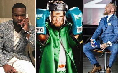 Uražený 50 Cent se na Instagramu ostře pustil do McGregora. Převtělil ho do trpaslíka a vysmál se mu za škrcení