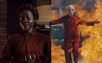 Us od režiséra Get Out je podľa kritikov desivým a bizarným hororom s vynikajúcou Lupitou Nyong'o