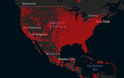 USA má nový denní rekord v počtu nakažených. WHO očekává velký nárůst obětí