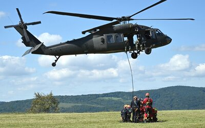 USA ponúklo Slovensku 50 miliónov dolárov. Ministerstvo obrany za ne kúpi 2 Blackhawky