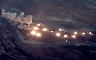 USA zveřejnily video útoku na válečníky IS. Takto dopadlo 36 tun bomb