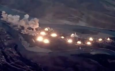 USA zverejnilo video útoku na bojovníkov IS. Takto dopadlo 36 000 kilogramov bômb