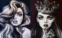 Úspešná módna ilustrátorka z Austrálie zobrazuje ženy ako pôvabné bytosti plné sily a nehy zároveň