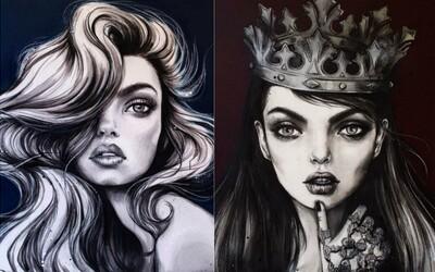 Úspěšná módní ilustrátorka z Austrálie zobrazuje ženy jako půvabné bytosti plné síly a něhy zároveň