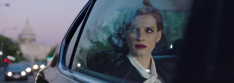 Úspešná strategička v podaní Jessicy Chastain nepozná prehru a v traileri pre politický thriller Miss Sloane je ochotná uspieť za každú cenu