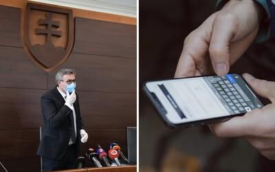 Ústavný súd povedal nie sledovaniu mobilov na Slovensku. Časti kontroverzného zákona na boj proti koronavírusu pozastavil