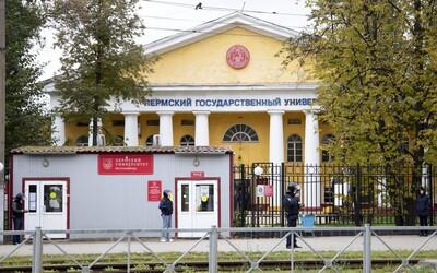 Útočníkovi na univerzite v meste Perm amputovali nohu, tvrdia ruské médiá