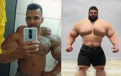 Utrhnu ti hlavu, vzkazuje brazilský Hulk tomu íránskému. V MMA by dva bojovníci udělali obrovskou show
