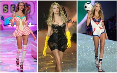 Uvidíme Caru Delevingne na Victoria's Secret přehlídce? Podle Instagramu to vypadá, že ano