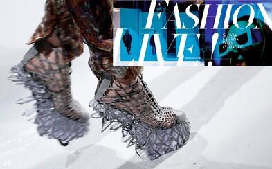 Úvodný Fashion LIVE! Talk 2016 sa niesol v štýle architektúry a futuristických fashion robotov