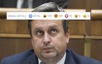 Už 20-tisíc Slovákov zahlasovalo vo facebookovej ankete za zrušenie strany SNS Andreja Danka