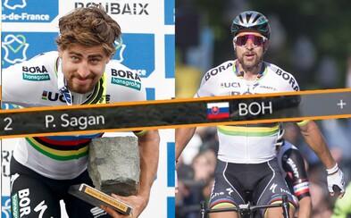 Už aj televízna grafika vie, že Sagan je jednoducho fenomén. Vďaka skratke tímu sa Peťo zmenil na božstvo