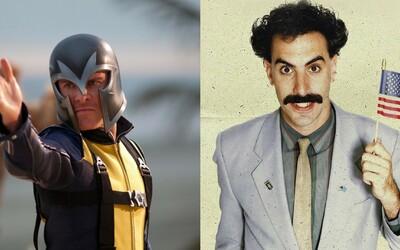 Už cez víkend si v telke užijete kontroverznú zábavu, ale aj riadnu dávku superschopností! Borat a X-Men oživia naše prijímače