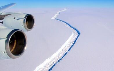 Už čoskoro sa z Antarktídy odlomí kus ľadovca veľký ako desatina Slovenska