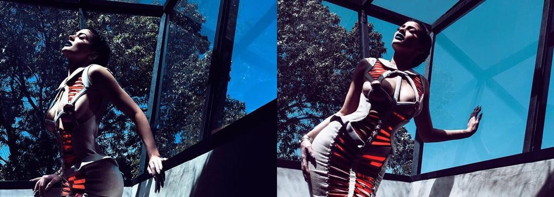 Už dospělá Kylie Jenner vystřídala na sérii narozeninových fotografií hned několik účesů