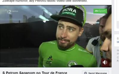 Už som mohol mať 8 zelených dresov, vtipkoval Peter Sagan po konci Tour de France