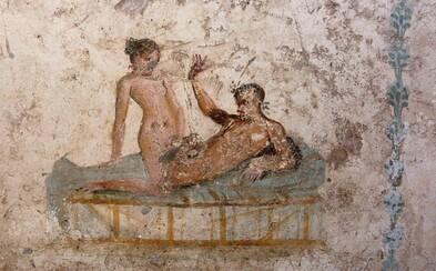 Už v zničených Pompejách si ľudia užívali odvážne sexuálne hrátky. Nestratili sa jednotlivci ani skupiny