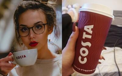 Už vieme, kedy v Bratislave otvoria prvú kaviareň Costa Coffee