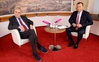 Už žádný Zeman u Jaromíra Soukupa. Týden s prezidentem končí