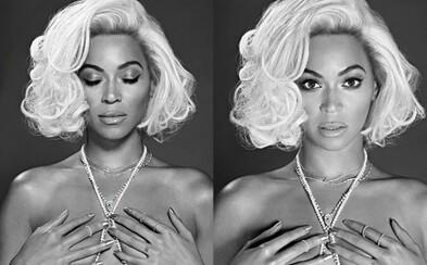 Úžasná Beyoncé v úlohe Marilyn Monroe v májovom vydaní Out Magazine