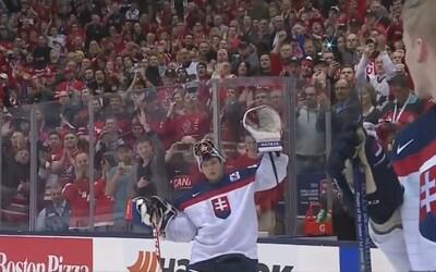 Úžasné kanadské publikum vytlieskalo Godlu po výhre nad Slovenskom