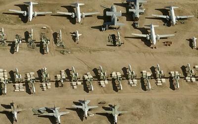 Úžasné satelitné snímky pohrebiska lietadiel ti umožnia preskúmať aj jeho najtajomnejšie miesta