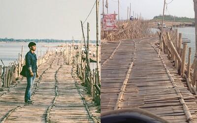 Úžasný 1000 metrový bambusový most, ktorý vždy zbúrajú, aby ho o rok postavili nanovo