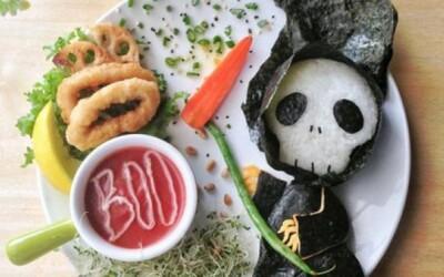Úžasný food art s halloweenskou tematikou