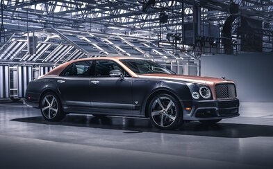 Uzavírá se další kapitola. Bentley vyrobilo poslední Mulsanne i slavnou 6,75litrovou V8