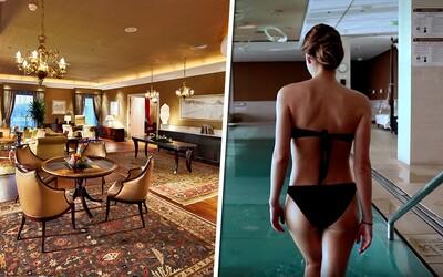 Užili jsme si luxus nejdražšího hotelového apartmánu na Slovensku. Za 160 000 korun na noc to můžeš udělat i ty