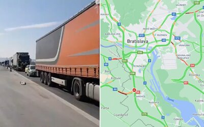 V 15-kilometrovej kolóne z Bratislavy museli vodiči čakať 90 minút. Policajné kontroly budú cez sviatky intenzívnejšie