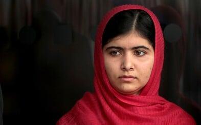 V 15 letech ji střelil do hlavy bojovník Tálibánu. Přežila, získala Nobelovu cenu a dnes staví školy a pomáhá uprchlíkům