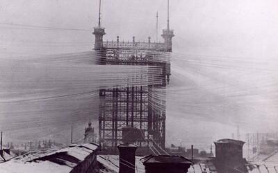 V 19. storočí pokrývali Štokholm tisícky prvých telefónnych káblov