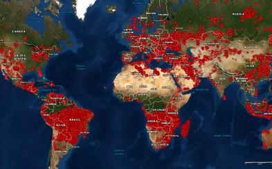 V Afrike je trikrát viac požiarov ako v Amazonskom pralese