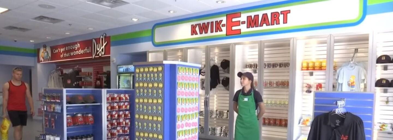 V Americe otevřeli Kwik-E-Mart ze Simpsonů. Zákazníci si mohou koupit Buzz Colu, donuty nebo Duff