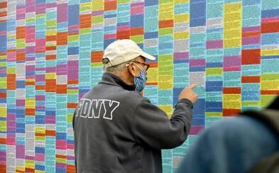 V Brooklynu vznikla stěna lží Donalda Trumpa. Jeho příznivci ji už stihli poškodit