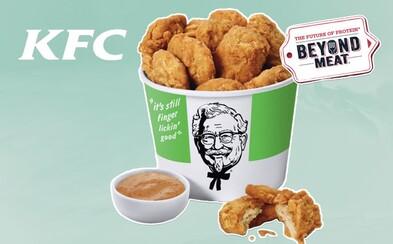 V americkom KFC si onedlho kúpiš vegánske vyprážané kurča