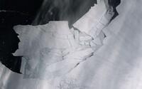 V Antarktíde sa z ľadovca odlomil obrovský kus ľadovej kryhy veľký ako Bratislava