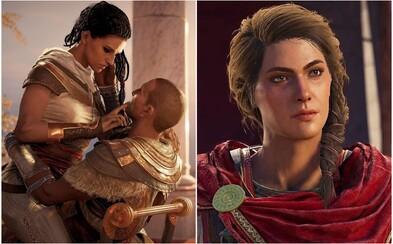 V Assassin's Creed: Origins bola pôvodne scéna, v ktorej znásilňovali hlavnú hrdinku Ayu. Cítiť sme to mali cez vibrácie ovládača