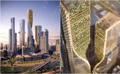 V Austrálii čoskoro pribudne nový najvyšší mrakodrap. Na streche zakrútenej budovy vyrastie aj botanická záhrada