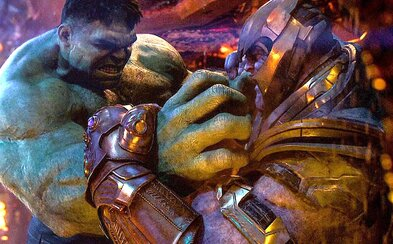 V Avengers: Endgame by sme sa mohli dočkať ďalšieho súboja medzi Hulkom a Thanosom