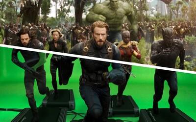 V Avengers: Infinity War nebolo takmer nič reálne. Celý film vznikol vďaka CGI