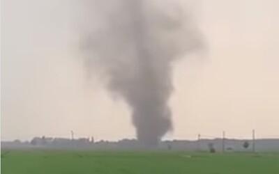 V Belgicku dnes zaznamenali na video tornádo. Môže ich prísť viac, varujú meteorológovia