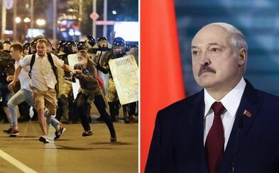 V Bělorusku pokračují protesty, policie mlátí demonstranty. Nedopustím žádný Majdan, vzkazuje diktátor Lukašenko