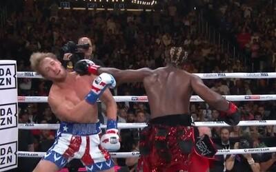 V boxerské odvetě youtuberů zvítězil KSI. Logan Paul prohrál jen velmi těsně