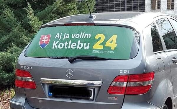 V Bratislave jazdia za taxislužbu Bolt autá s polepmi extrémistickej strany, ľudia do nich odmietajú nastúpiť