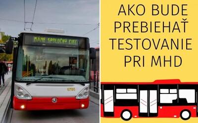 V Bratislave pribudne 50 mobilných odberných miest: Otestovať sa budeš môcť pred autobusom, trolejbusom alebo električkou