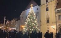 V Bratislave rozsvietili vianočný stromček, ale tradičné trhy tento rok nebudú. Punč a lokšu si môžeš vychutnať pri Dunaji